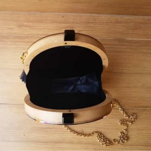 Circle Bag Blue Basic