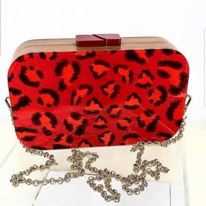 Bag Manhattan Red Animal Print