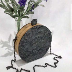 Bag Joia Craquelada Black