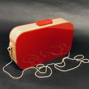 Bag Manhattan Red Rubi