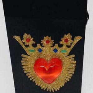 Queen Bag Sagrado Coração Black